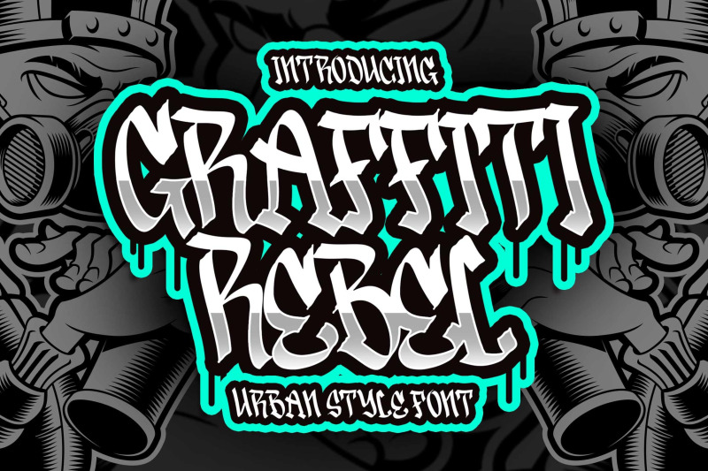 graffiti-rebel-urban-style-font