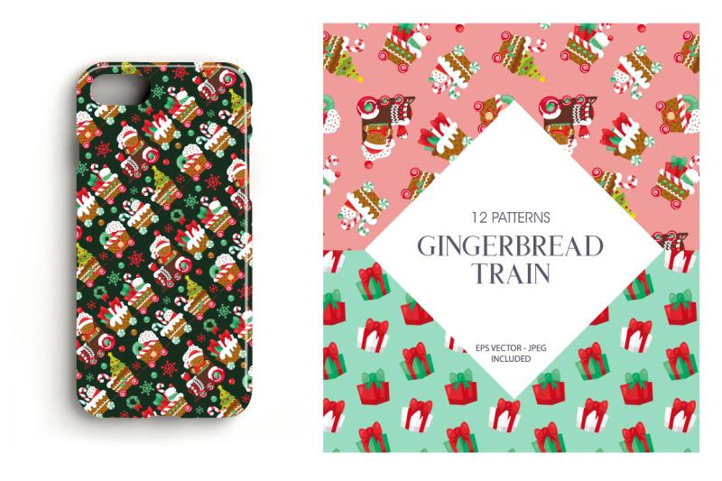 gingerbread-train