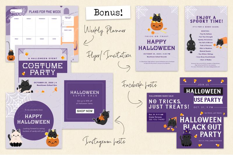 halloween-illustration-amp-pattern-set