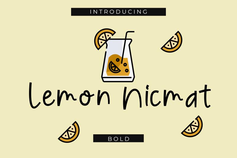 lemon-nicmat-bold