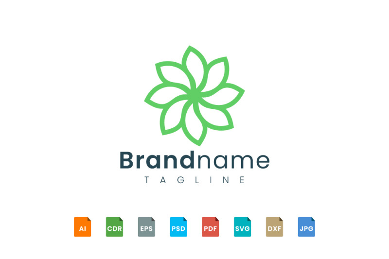flower-logo-template