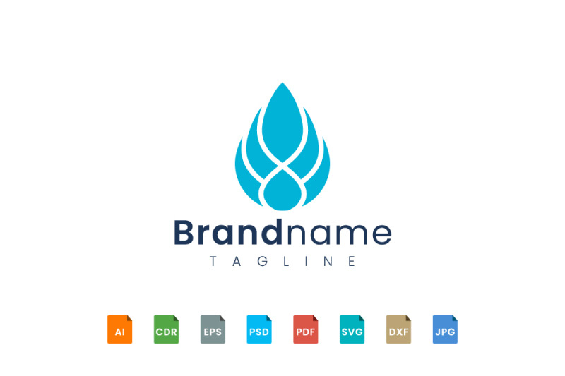 abstract-water-logo-template