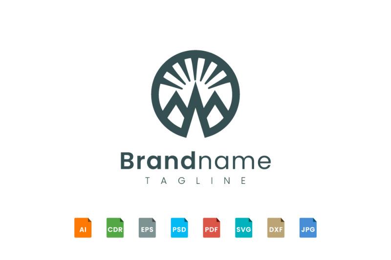 bold-mountain-logo-template