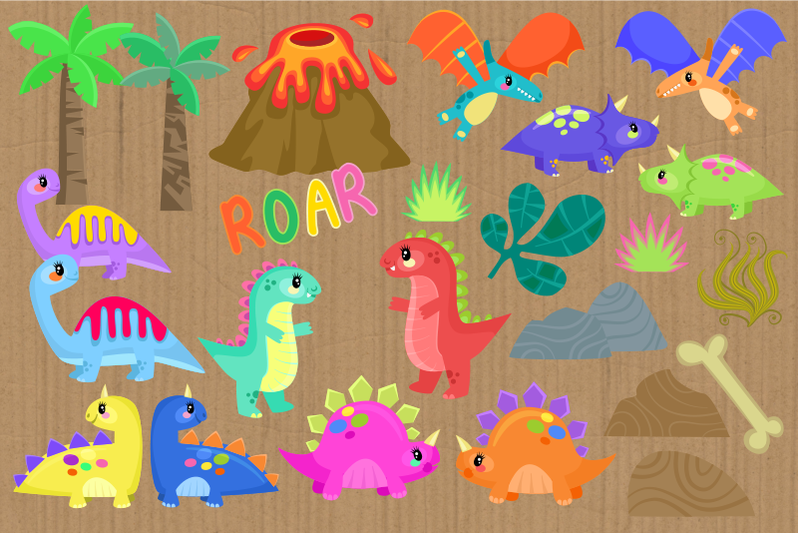 baby-dinosaurs-cute-cartoon-reptiles