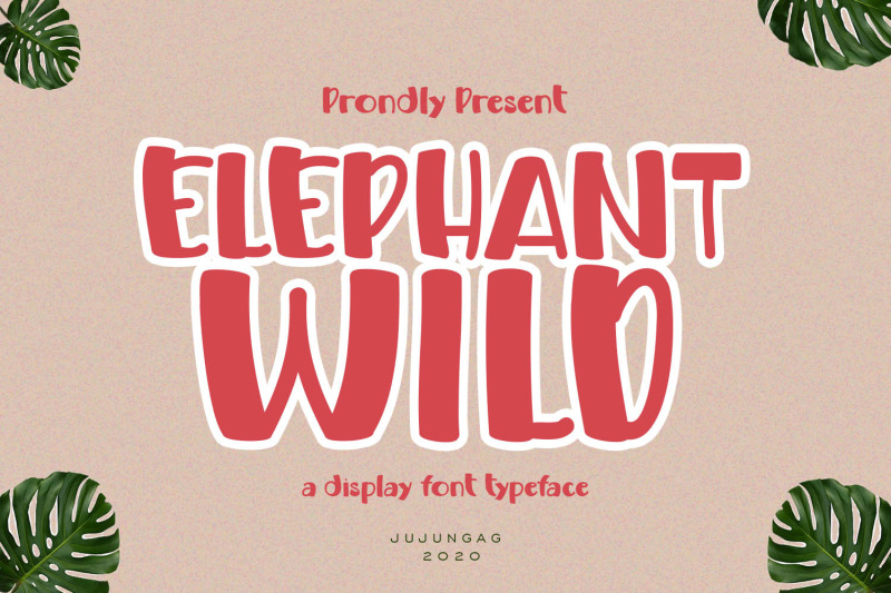 elephand-wild-a-display-font-typeface
