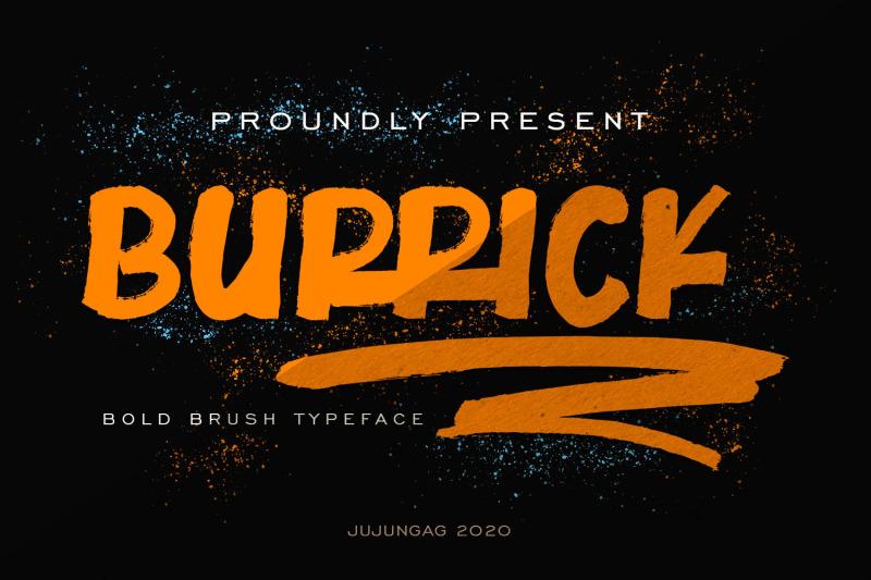burrick-bold-brush-typeface