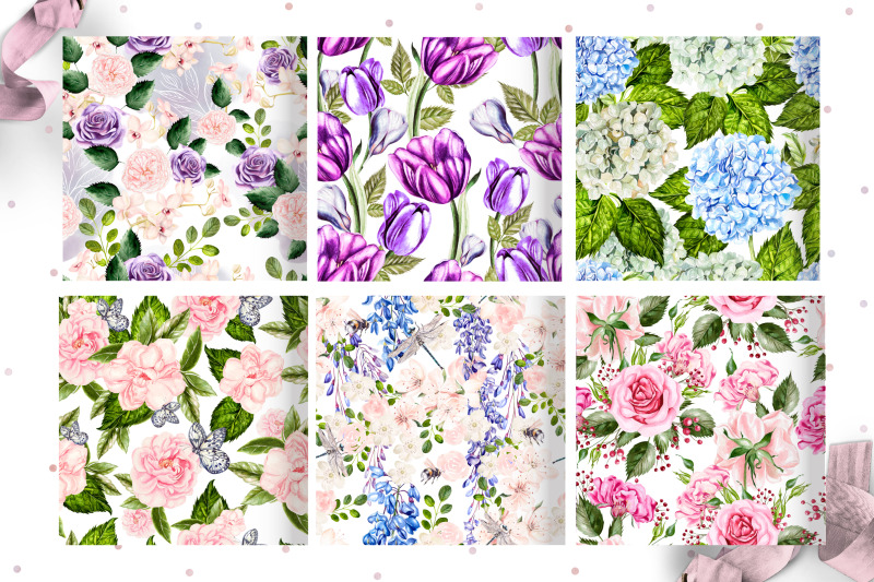 10-hand-drawn-watercolor-patterns