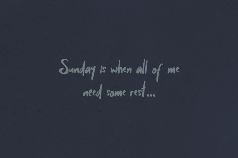 sunday-mood