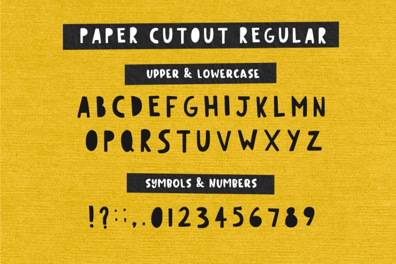 paper-cutout-font-duo