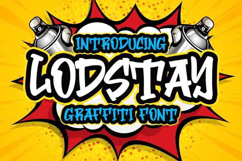 lodstay-graffity-font