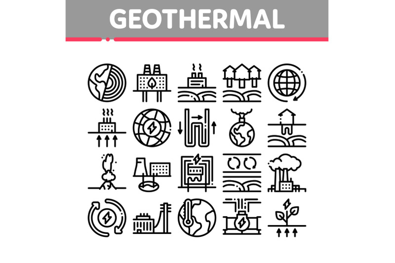 geothermal-energy-collection-icons-set-vector-illustrations
