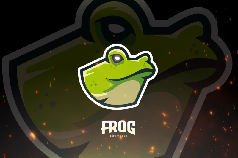 frog-mascot-and-esport-logo