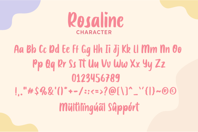 rosaline-display-font