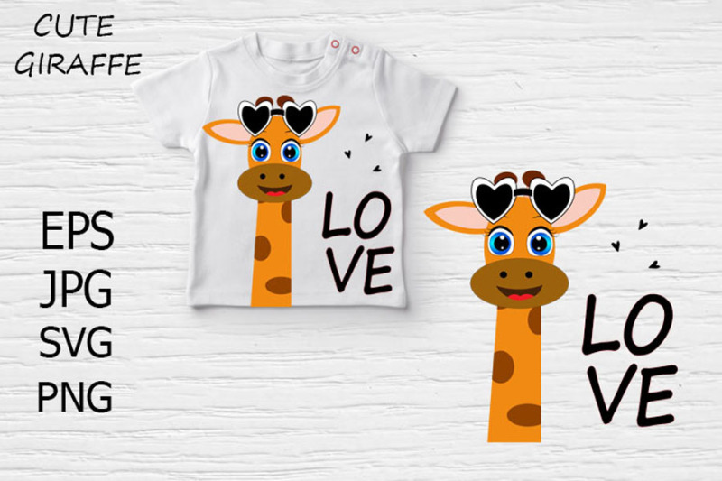 cute-giraffe-love