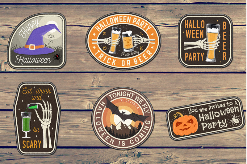 halloween-patches