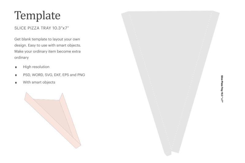 Download Slice Pizza Tray Template   Silhouette Studio   Cricut Silhouette Free Mockups