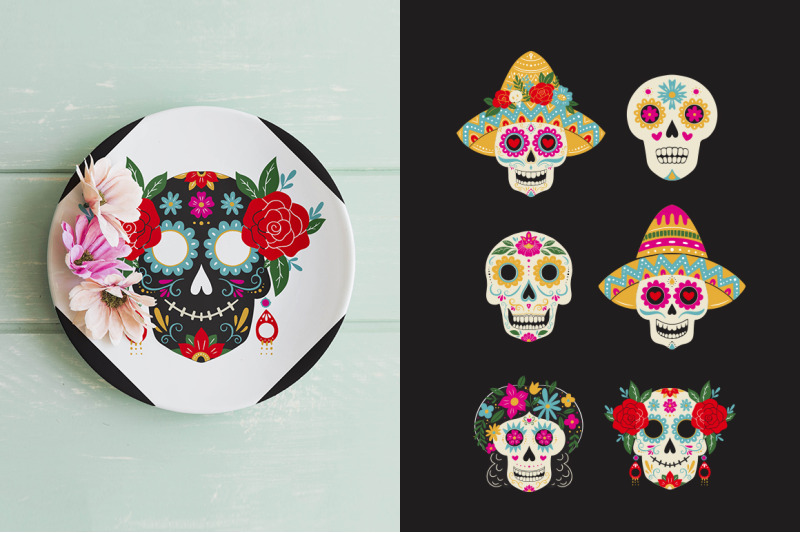 day-of-the-dead-mexican-collection