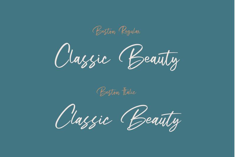 beston-casual-script-font