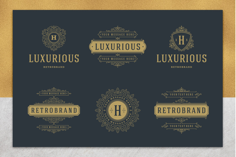 36-luxury-ornament-logos