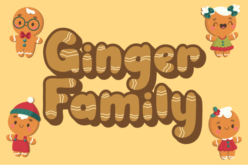 ginger-biscuit-christmas-font