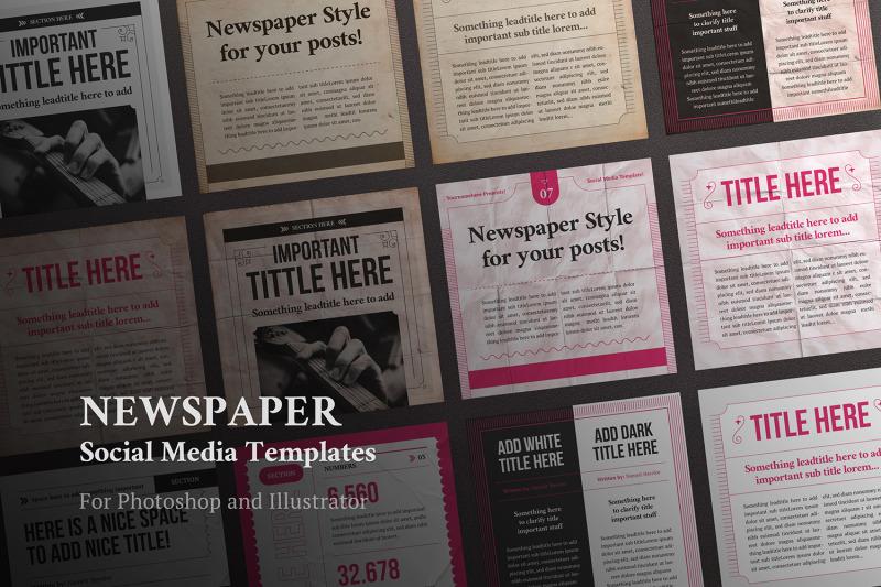 newspaper-social-media-templates