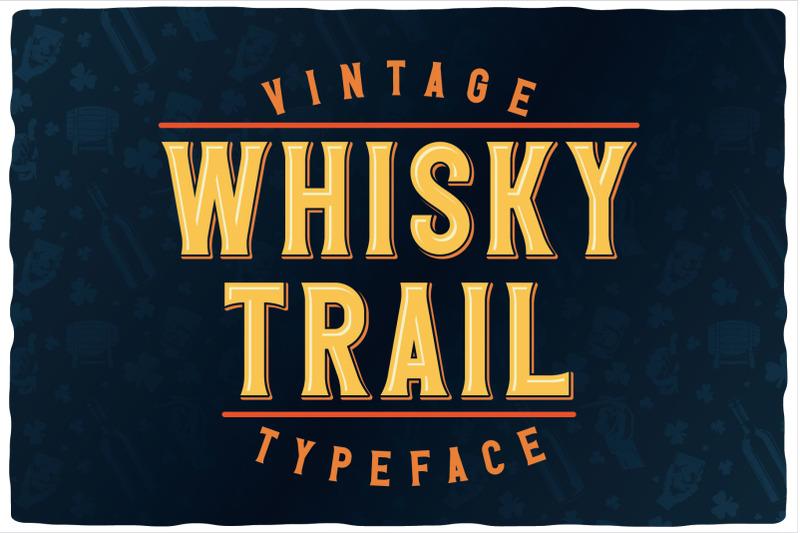 whisky-trail-font-bonus
