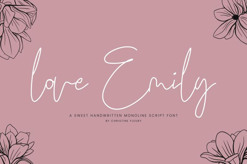love-emily-a-sweet-handwritten-monoline-script-font