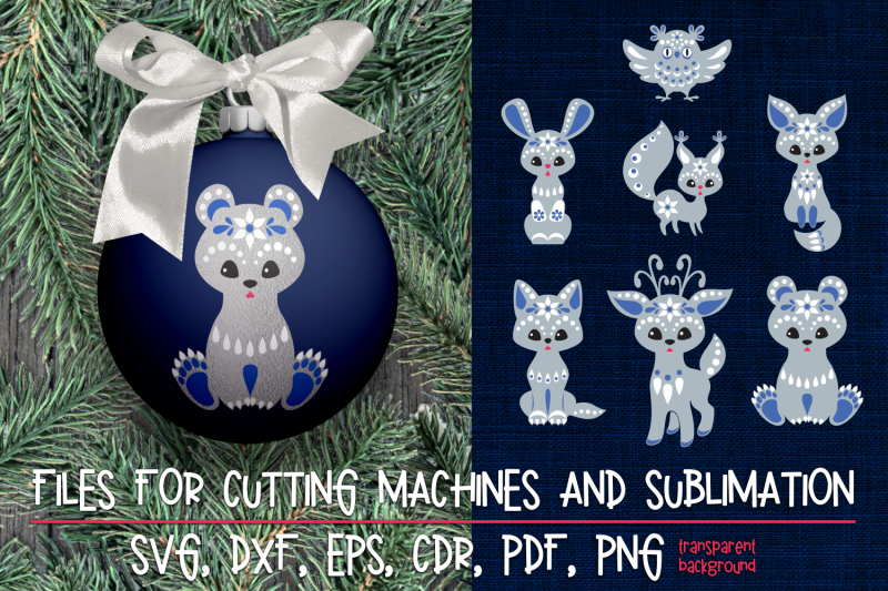christmas-svg-cut-designs-with-forest-animals-mini-bundle