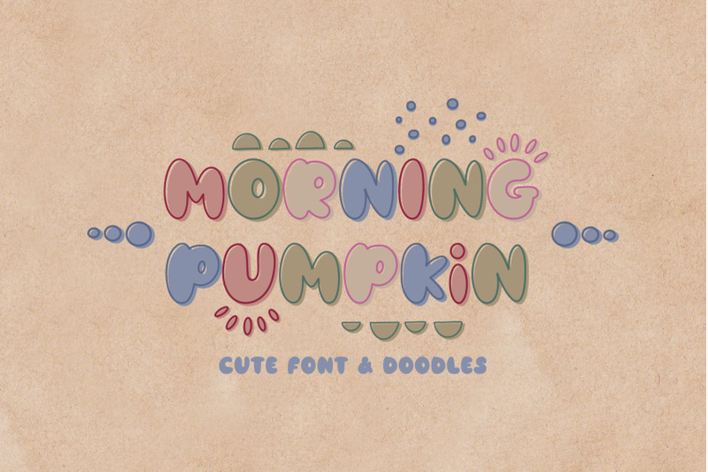 morning-pumpkin-font-amp-doodles