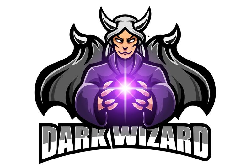 dark-wizard-esport-mascot-logo-design