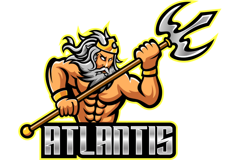 poseidon-mascot-logo-design-with-trident-weapon