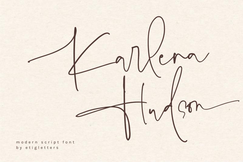 karlena-hudson-modern-script