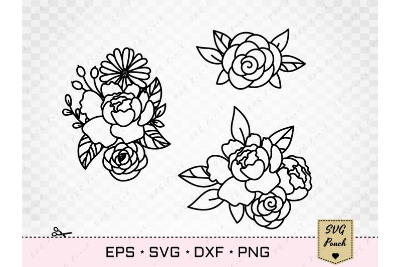 peony-and-daisy-flowers-svg