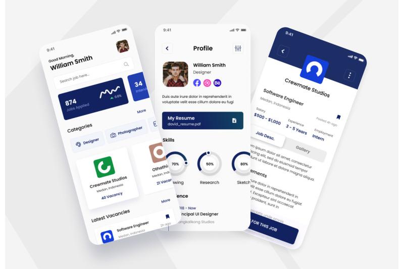 karier-job-portal-ios-app-design-ui-template