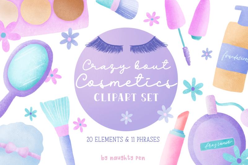 crazy-bout-cosmetics-clipart-set