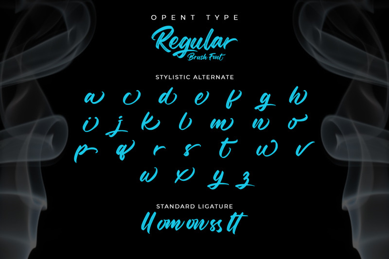 regular-brush-elegant-brush-font