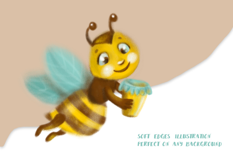 honey-and-bee-clipart