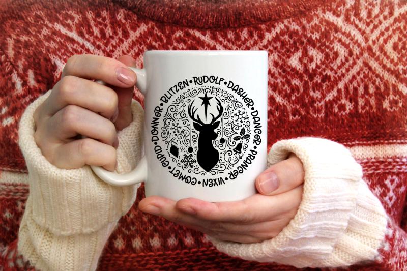 reindeer-names-svg-round-christmas-ornaments-svg