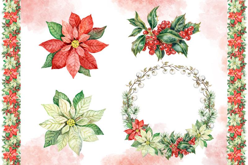 winter-birds-watercolor-clipart-christmas-decor-decorative-frames
