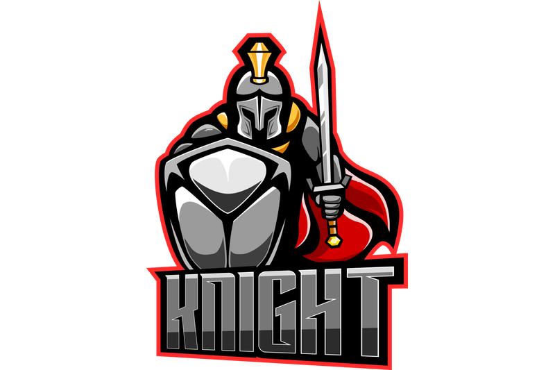 knight-esport-mascot-logo-design