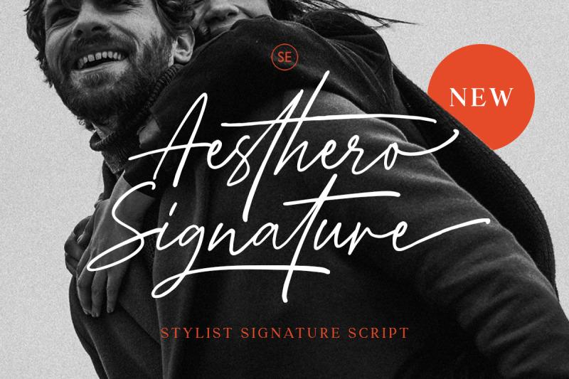 aesthero-stylish-signature-script
