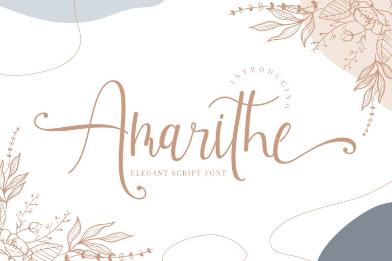 amarithe-elegant-script-font