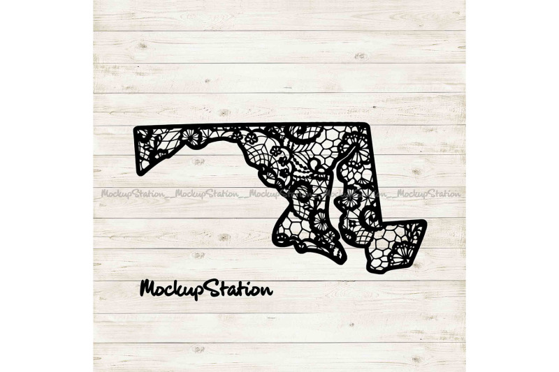 maryland-state-mandala-svg-md-floral-lace-decor-dxf
