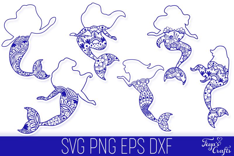 mermaid-mandala-svg-cut-files-pack