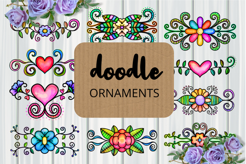 doodle-ornamental-folk-art-flourishes