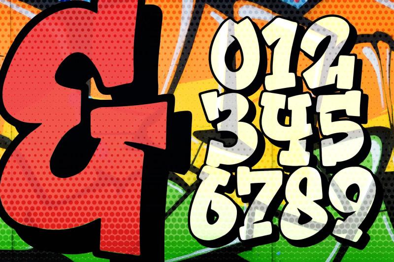 bomber-squad-graffiti-font