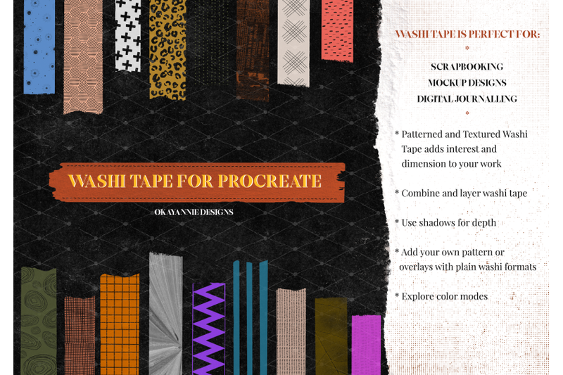 halloween-washi-tape-for-procreate