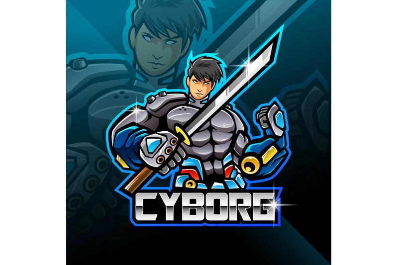 cyborg-esport-mascot-logo-design