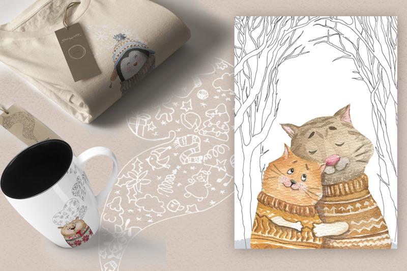 cute-animals-in-warm-winter-fabric