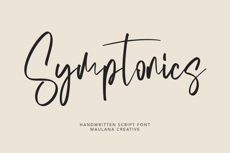 symptonics-signature-handwritten-font